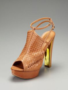 woven platform from shutz shoes