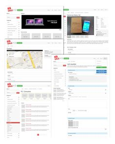 #Ads #Responsive #Theme #Website CZSale is a #Bootstrap 3 #Classified Ads Website. Everything is fully responsive and it's looks great on mobile, tablets, large desktops and a...