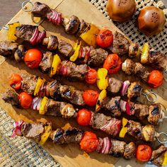 Host an inexpensive evening of grilling and dining al fresco with these easy cookout recipes and party tips. Kebab Recipes, Grilling Recipes, Beef Recipes, Grilling Tips, Onion Recipes, Hamburger Recipes, Chicken Recipes, Vegetable Kebabs, Father's Day