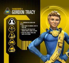 Gordon Tracy Profile Image - Character