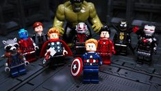 Lego Avengers, Stop Motion, Marvel Cinematic Universe, Legos, Captain America, Car, Vehicles, Funny, Wallpapers