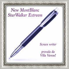 New Montblanc Con Screenwriter per disegnare e scrivere su touch screen con la precisione e l'eleganza delle penne #montblanc. Vieni a provarla da #villavarese!