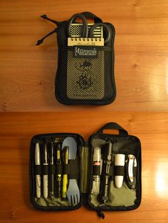 EDC Organizer By: Wally • Maxpedition E.D.C. Pocket Organizer - Purchase On Amazon » • Write in the Rain Notebook - Purchase On Amazon » • Hazard 4 Glow In The Dark US Flag - Purchase On Amazon » •...