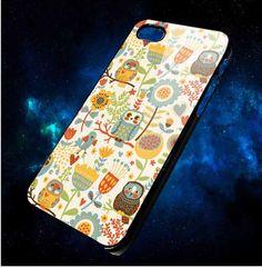 Happy Owl Iphone 5 Case