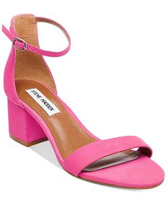 d80df4a871b Steve Madden Women s Irenee Two-Piece Block-Heel Sandals