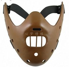 XCOSER The Silence of the Lambs Hannibal Lecter Mask Movie Character Cosplay Props Cool Half Face Masks Costume Accessory Gift Halloween Cosplay, Halloween Masks, Cosplay Costumes, Halloween Christmas, Props For Sale, Masks For Sale, Hannibal Lecter Mask, Cosplay Store, Mask Dance