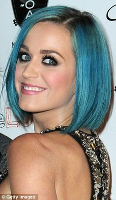 I can't help it, I just love Katy Perry . Her hair is my fav color..but not for hair...