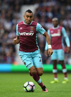Diego Poyet of West Ham United in action during the Premier League match between…