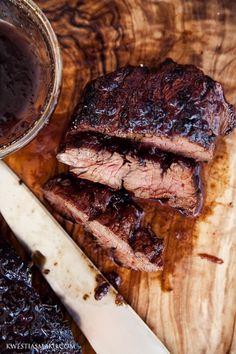 Jack Daniels Marinated Steak - Swanky Recipes