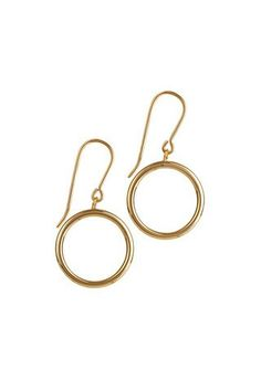 9ct gold circle drop earrings #irishjewellery #irishdesign #dublin #finejewellery #momuse #shopppwerscourt #artisan #earrings #circles #drops #9ct #gold