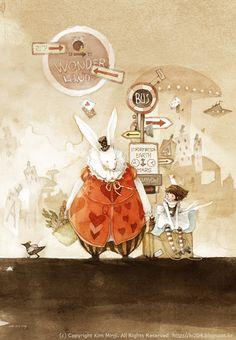 Kim Min Ji | ILLUSTRATION | Alice in Wonderland
