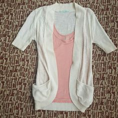 Maurices Cardigan Creme in color NO flaws looks brand new BUNDLE and save 10% Sweaters Cardigans