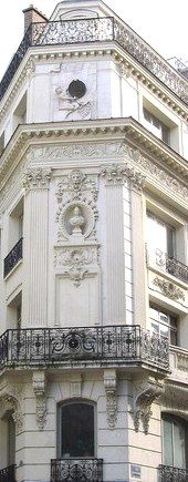 Beautiful architectural details… / #exterior #architecture #paris French Architecture, Paris Architecture, Beautiful Architecture, Beautiful Buildings, Architecture Details, Neoclassical Architecture, Beautiful Paris, I Love Paris, Iron Railings