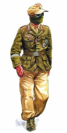 German soldier in Libia, 1942.