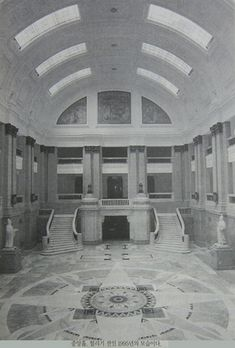 The interior of the Old Governor-General of Korea Building / 옛 조선총독부 건물 내부