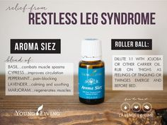young living essential oils for restless leg syndrome, a personal testimony from the team at Lavender & Lime by lenora
