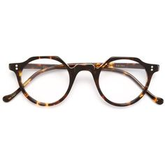Lesca Tortoise Shell Glasses ($232) ❤ liked on Polyvore featuring accessories, eyewear, eyeglasses, brown, tortoise eyeglasses, acetate glasses, tortoiseshell glasses, tortoise glasses and tortoiseshell eyeglasses