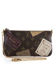 Louis Vuitton Monogram Mini Pochette Accessories Stamp M63798