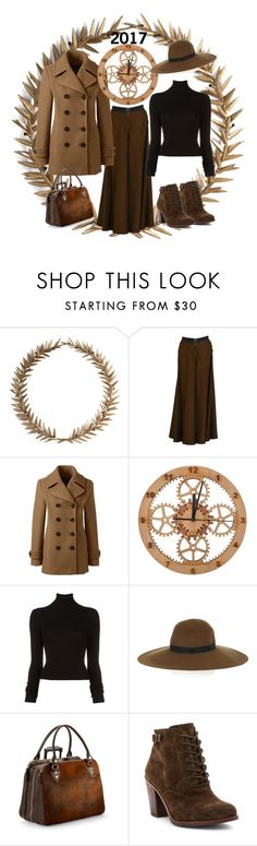 """""""2017"""" by pam-arnold on Polyvore featuring Bliss Studio, Jean-Paul Gaultier, Lands' End, BLK DNM, Maison Michel, Aspinal of London and Lucky Brand"""