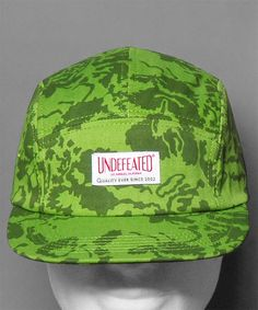 Neu bei Numelo: die Undefeated Floral Camp Cap in Olive - http://www.numelo.com/undefeated-floral-camp-p-24493000.html #undefeated #floralcampcap #baseballcaps #numelo