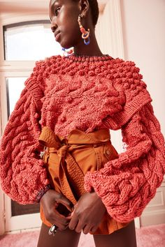 Knitwear Fashion, Knit Fashion, Woman Fashion, Mens Fashion, Fashion 2020, Fashion Show, Fashion Outfits, Kreative Jobs, Moda Crochet