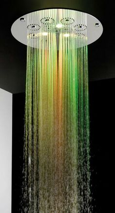 Colour Therapy Rain Spa Shower Heads   It's A Colourful Life