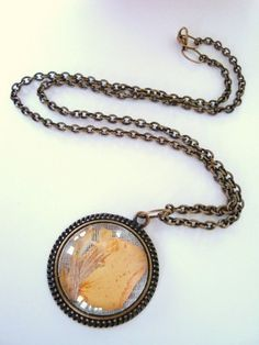 Downton Abbey Necklace in Brass and real Petals. Will be up In Jewelry at 9am PT. Starting Bid is $9