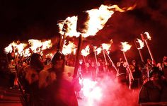 Strange is not a word : the most bizarre festivals around the global village UP HELLY AA , SHETLAND , SCOTLAND