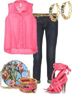Outfits de Moda ...Me Tomo Cinco Minutos: Boyfriend Jean