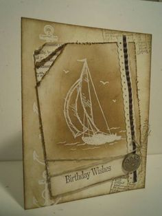 Birthday Sail by ahelynck - Cards and Paper Crafts at Splitcoaststampers