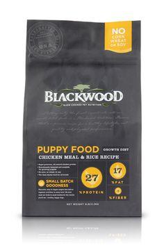 Blackwood Dog Food Packaging Redesign on Packaging Design Served