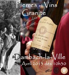Pierres et Vins de Granite « Les Gaulois débarquent » à Dambach-la-Ville