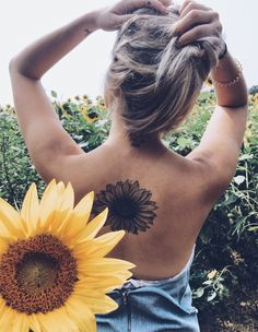 #sunflower #tattoo #summer