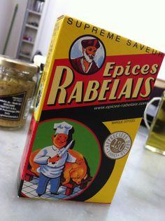Ne pleure pas, grosse bête, tu seras assaisonnée aux épices Rabelais...