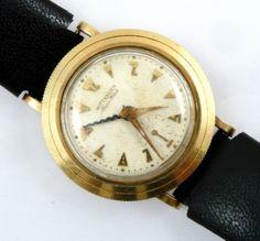 Vintage 1950's Wittnauer Alarm Watch