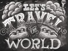 Let's Travel the World by Shauna Lynn Panczyszyn