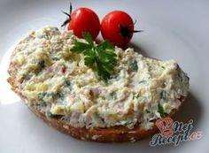 Celerová pomazánka Slovak Recipes, Czech Recipes, Ethnic Recipes, Great Recipes, Healthy Recipes, Baked Potato, Baking Recipes, Ham, Food And Drink