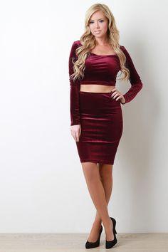019e16265c Velvet Pencil Skirt Bodycon Dress, Dress Skirt, Pencil, Zipper, Womens  Fashion,