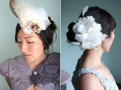 Image detail for -Fabulous Fascinators from Twigs & Honey - The Sweetest Occasion | The ...