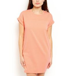 Throw on this Petite Orange Jersey Tunic Dress and have fun accessorising it in different ways. #newlook #fashion