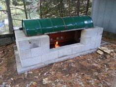 How to Build an Awesome BBQ Rotisserie Pit - Daily Survival Pro