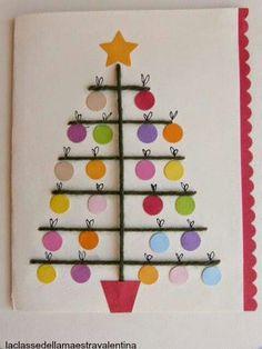 Holiday, crafts, and fun! Diy Christmas Cards, Noel Christmas, Christmas Crafts For Kids, Homemade Christmas, Christmas Projects, Holiday Crafts, Christmas Decorations, Christmas Ornaments, Diy Natal