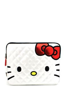 hello kitty quilted ipad case $29.95