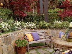 English French Country Garden Design 400x300 English French Country Garden Design APPEARs SUNKEN