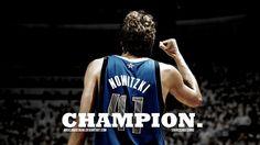 Nowitzki. Absolute Champion