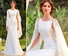 Vestido com capinha- estilo grego. Marca Papilio