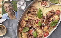 Tareq Taylor's creamy chicken gratin – World Food Chefs, Vegetarian Recipes, Healthy Recipes, Creamy Chicken, Everyday Food, Food Inspiration, Italian Recipes, Love Food, Great Recipes