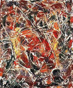 JACKSON POLLOCK http://www.widewalls.ch/artist/jackson-pollock/ #drip #painting #surrealism