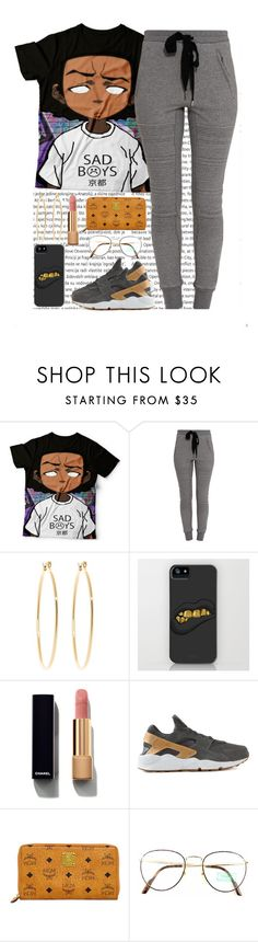 """""""Sans titre #378"""" by lesliekabengele ❤ liked on Polyvore featuring Oris, 3.1 Phillip Lim, Brooks Brothers, Chanel, NIKE, MCM and Benetton"""