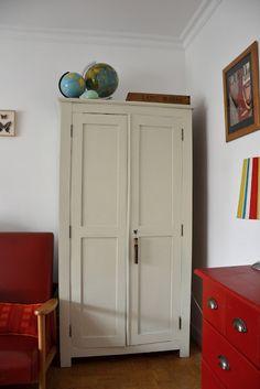 La Fabutineuse: L'armoire d'école-parisienne en place (1ère partie)